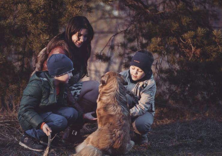 ADOPTING A DOG ~ CHILDREN